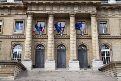 Tribunal où se déroule l'audience de divorce pour altération du lien conjugal